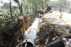 Progresan trabajos de rehabilitación de la vía Cascajal