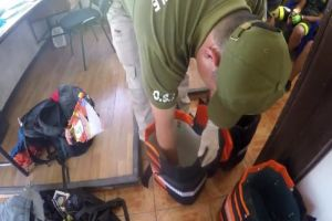 """""""Los Escarabajos"""" traficaban droga desde Cali hasta Chile en bicicleta"""