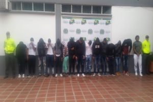 """Desarticulada banda """"La Gallera"""", sindicada en 20 homicidios"""