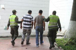 Capturados tres hombres y seis mujeres en el barrio Eduardo Santos por traficar droga