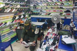 Incautados más de 36 mil pares de calzado de contrabando