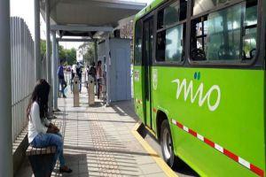 MIO modifica momentáneamente ruta A18 por trabajos de la vía Cascajal