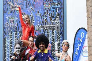 Cali estrena mural inspirado en su Feria