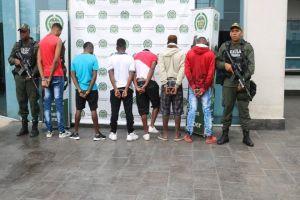 """Capturados """"Los Haitianos"""", temidos por sembrar el terror en la Comuna 15"""