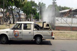 Inició fumigación para prevenir el dengue, zika y chikunguña en la ciudad
