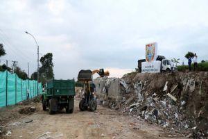 Evacuación de escombros de la Estación de Transferencia tiene 95% de avance