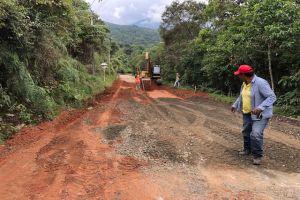 Arrancaron obras de pavimentación en Vuelta a Occidente