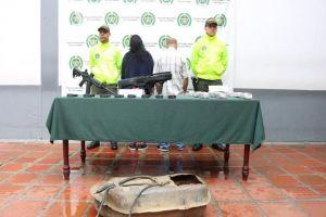 Presuntos traficantes de armas de fuego fueron aprehendidos por la Policía