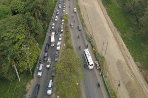En 35% avanza ampliación de la vía Cali-Jamundí