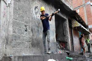 """Demolición de """"El Túnel del Tiempo"""" busca combatir el microtráfico en la ciudad"""