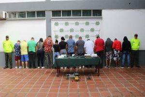 """Capturaron a """"Los Vaqueros"""", red criminal dedicada al sicariato"""