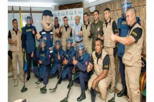 Ejército acreditó a Cali como territorio libre de minas antipersonales