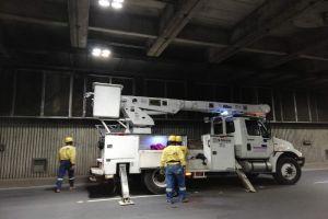 Hurto de luminarias en Túnel Mundialista genera pérdidas, inseguridad y cierres