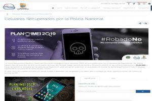 Ponen al servicio de los caleños plataforma digital para consulta por robo de celulares