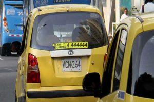 Pico y placa para taxis rige desde este jueves en Cali