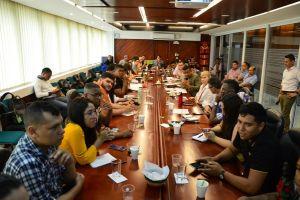 Gobernadora y estudiantes analizaron tema de bienestar universitario en sedes regionales