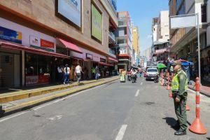 Con Plan Centro la Alcaldía busca controlar el espacio público
