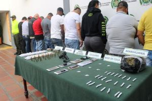 """Por homicidio, microtráfico y porte ilegal de armas apresan a """"Los Borrador"""""""