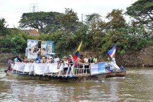 Balsada a la Virgen de la Asunción se une al Petronio
