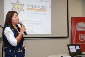 Caleños participarán en Simulacro Nacional de Respuesta a Emergencias