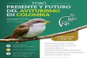 En Bogotá será el lanzamiento de Colombia Birdfair 2020