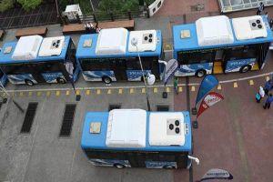 En funcionamiento primera flota de buses a gas natural del MIO
