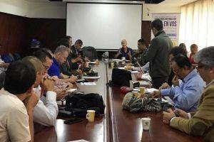 Autoridades acordaron garantizar respeto a los Derechos Humanos durante jornada de paro nacional