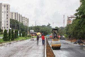 Obras viales al sur de la ciudad quedarán en un 85% de ejecución