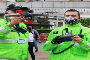 Con flota de drones refuerzan control de aislamiento preventivo