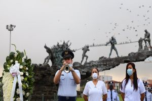 Médicos fallecidos por Covid-19 fueron homenajeados