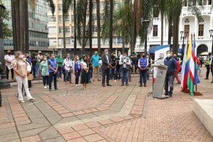 Cali conmemoró 210 años del Grito de Independencia