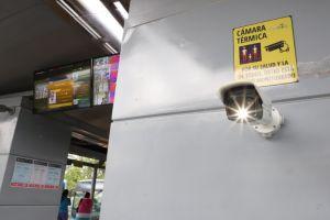 Instalan cámaras térmicas en el MIO