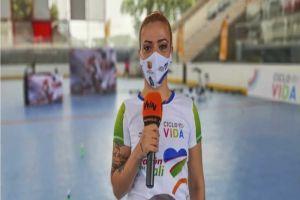 Angie Osorio traerá su swing salsero a la Ciclovida de Cali