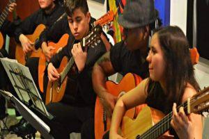 Este sábado concierto de la Orquesta Nacional de Guitarras