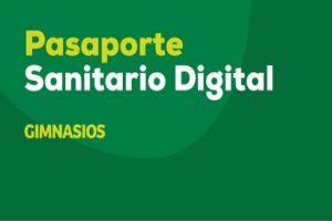 Pasaporte Sanitario Digital para gimnasios