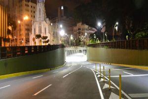 Túnel de la Avenida Colombia cierra por mantenimiento