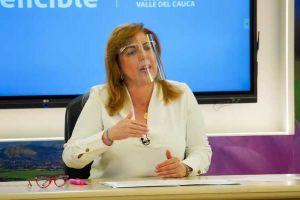 Muestras de solidaridad y cariño recibe Gobernadora del Valle tras diagnóstico