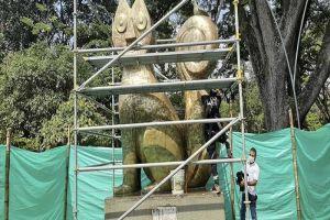 Restaurado El Gato del Río para orgullo de los caleños
