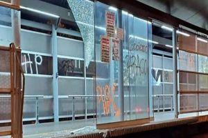Llamados a manifestaciones terminan con actos vandálicos contra el MIO