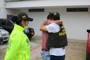 Policía rescató en Cali a comerciante proveniente de Medellín