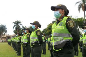 Nuevos auxiliares de policía para reforzar la seguridad en Cali