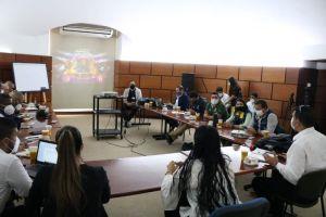Autoridades evaluaron planes de trabajo y medidas de bioseguridad de la Feria de Cali