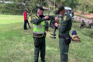 Gobernación dotó a la Policía Valle y Metropolitana de Cali de 4 drones