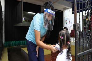 Con buen pie inició esquema de alternancia en jardines infantiles