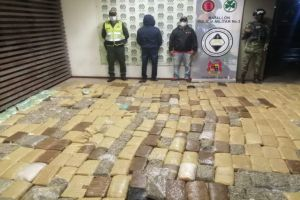 Encarcelado hombre que transportaba 400 kilos de marihuana