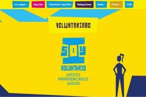 Invitan a los vallecaucanos al voluntariado de los Panamericanos Junior 2021