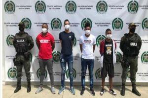"""Presos """"Los Chene"""" señalados por secuestro de ingeniero de Emcali"""