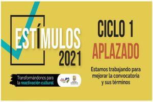 """Aplazada convocatoria pública de """"Estímulos Cali 2021"""""""