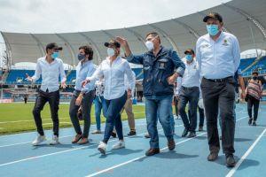 """Comisión nacional dio visto bueno al """"clúster del deporte"""" en el Pascual Guerrero"""