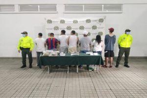 """Judicializados 12 integrantes del grupo """"Tequila"""", entre ellos cuatro policías"""